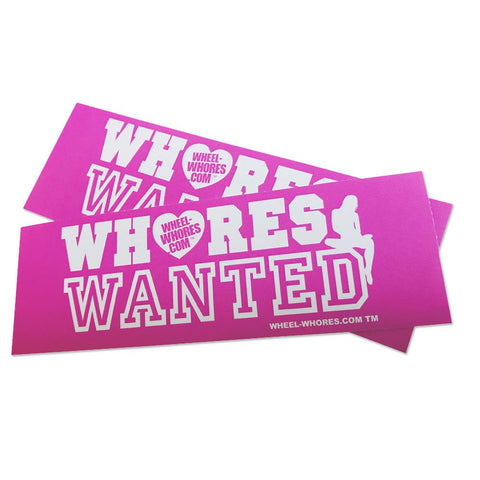 Whores Wanted v3 (Sticker Pack)