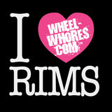 I Heart Rims (White T-Shirt)