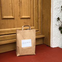 doorstep delivery from The Square Peg