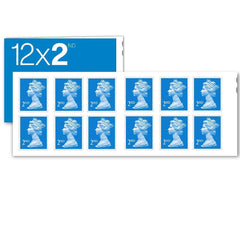 Book of 12 x 2nd Class Stamps