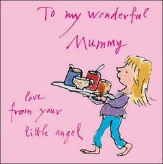 To My Wonderful Mummy, Mothers Day Cards