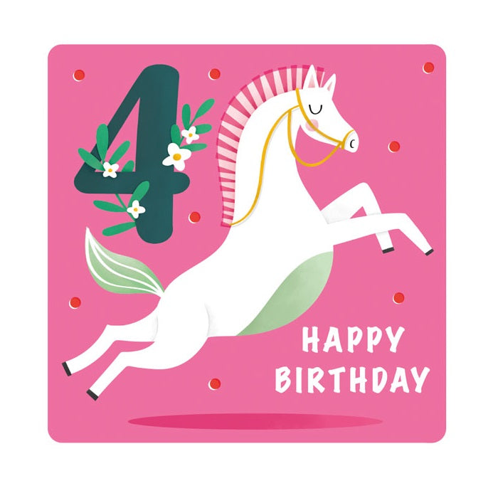 4th Birthday Horse