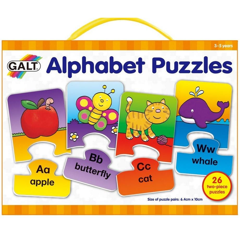 Galt Alphabet Puzzles, Educational Toys & Games
