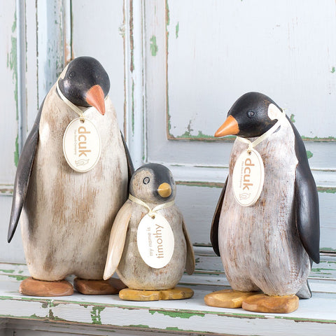 DCUK Painted Emperor Penguin Mummy