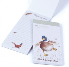 Wrendale Designs Duck Shopping Pad, Journals and stationery