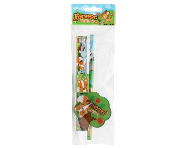 Forest Friends Pencil and Ruler, Desk accessories