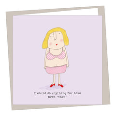 Anything For Love Valentines Card, Valentines Day Cards