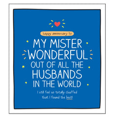Mister Wonderful - Husband Anniversary