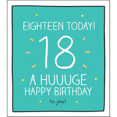 18th HUUUGE Happy Birthday