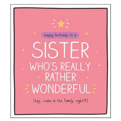 Sister Rather Wonderful
