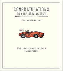 Driving Test - Smashed It