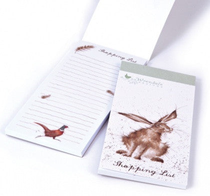 Wrendale Designs Hare Shopping Pad, Journals and stationery