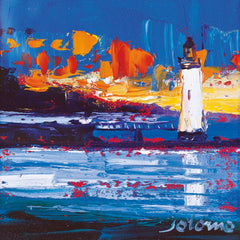 Jolomo Sunset, Rhuba Nan Gall Lighthouse Card