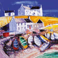 Jolomo Beached Boats, Islay Card