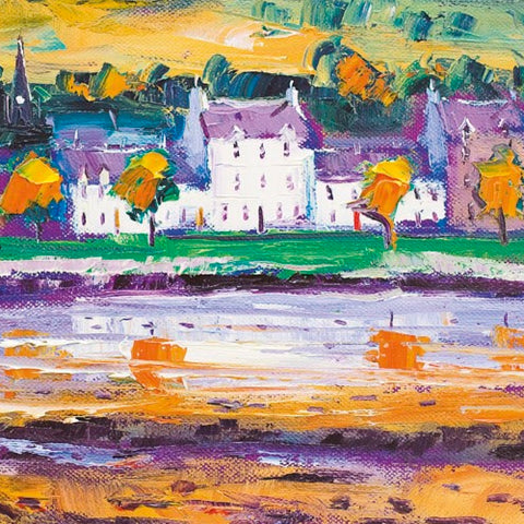 Jolomo Autumn Morning Lochgilphead Card