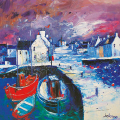 Jolomo Snowstorm on the Kirk, Islay Card