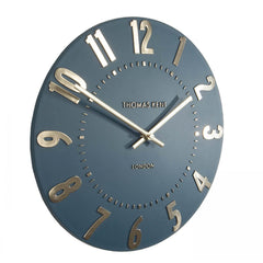 Mulberry Wall Clock Midnight Blue