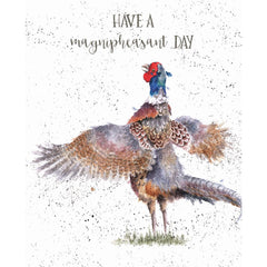 Wrendale Designs Magnipheasant Birthday Card