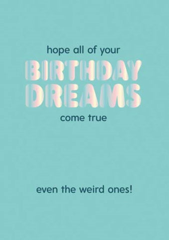 Birthday Dreams