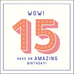 Wow 15 amazing birthday