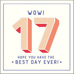 17 *Best Day Ever!*