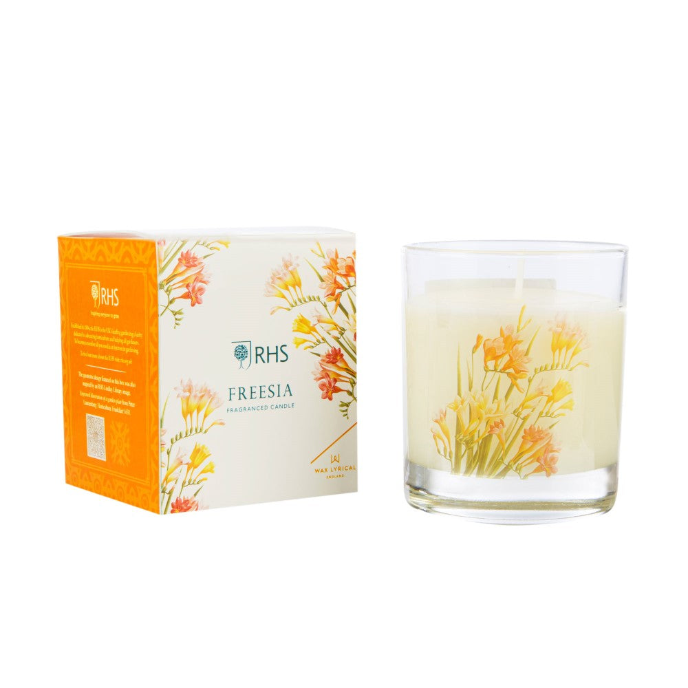 RHS Freesia Candle Glass