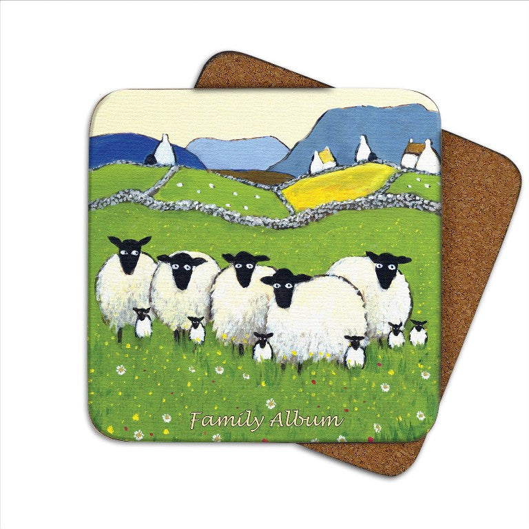 Thomas Joseph Family Album Coaster, Coasters and place mats