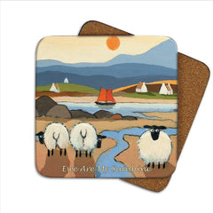 Thomas Joseph Ewe Are My Sunshine coaster, Kitchen Crockery