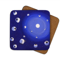 Thomas Joseph Ewe-Niverse Single Coaster, Coasters and place mats