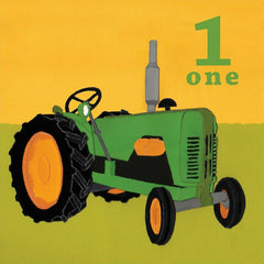 1st Birthday Old Tractor