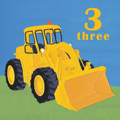 3rd Birthday Yellow Digger