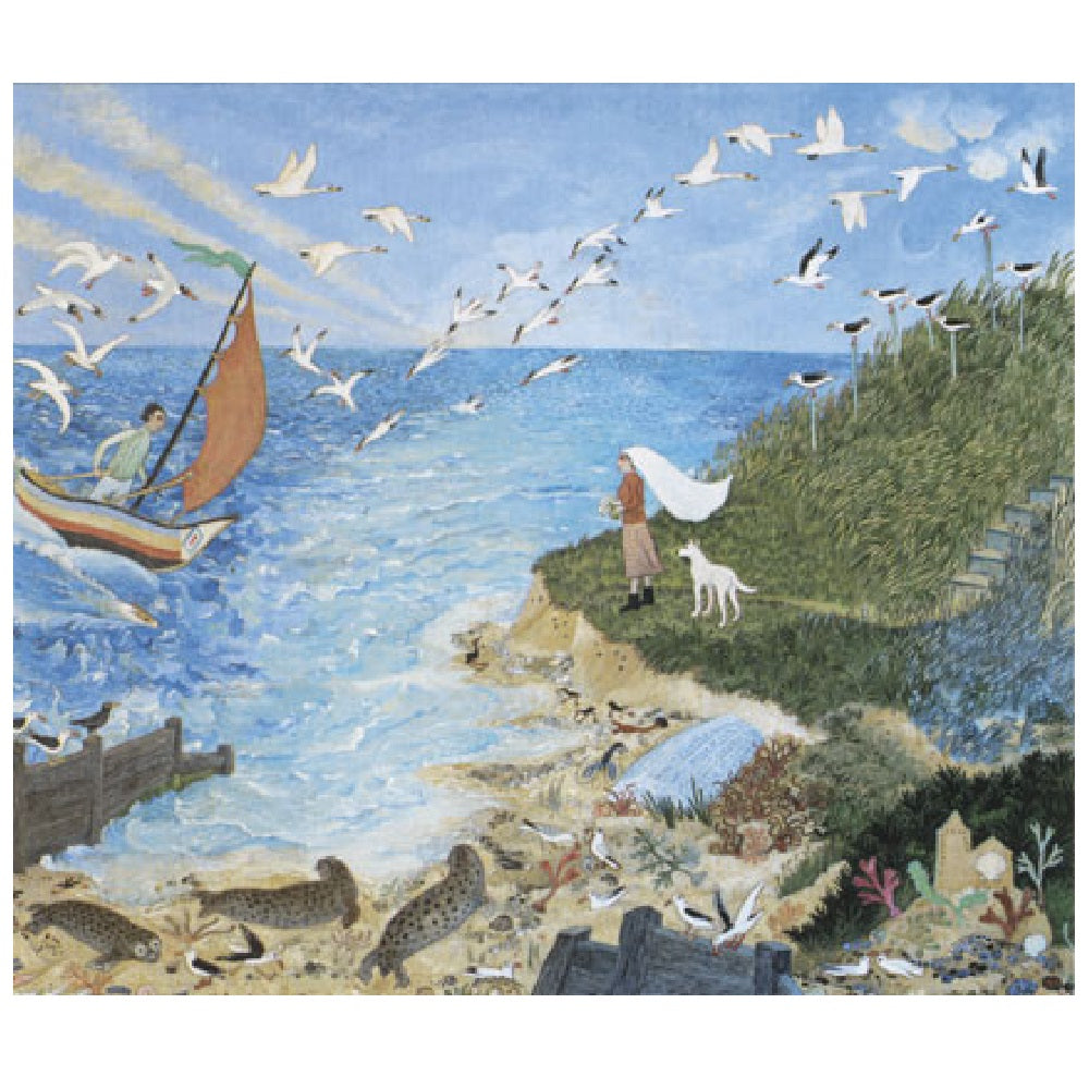 Just Us Anna Pugh Greetings Card