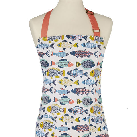 Aquarium Cotton Apron