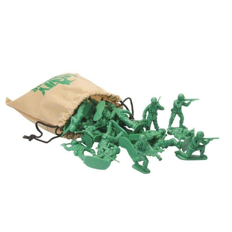 Army Soldiers with Bag, Pocket Money Toys