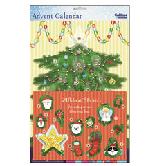 Tree Sticker Advent Calendar
