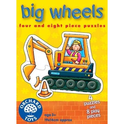 Orchard Toys Big Wheels Puzzles