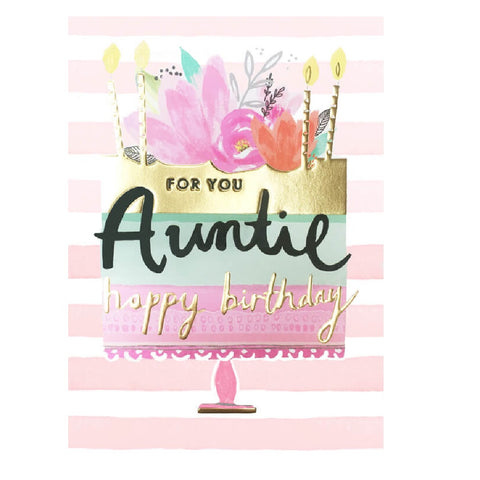 Auntie Cake Card