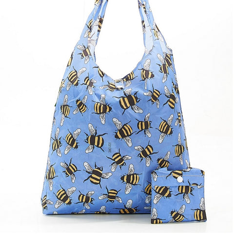 Blue Bees Shopper