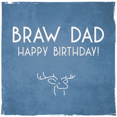 Dad Braw Birthday
