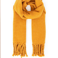 Powder UK Carolyn Scarf in Mustard