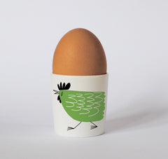 Chicken Egg Cup in Green