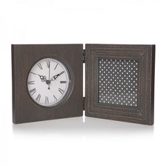 Double Frame - Clock and Photo