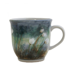 Cotton Grass 425ml Stoneware Mug, Mugs