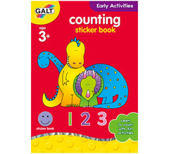 Galt Counting sticker book, Educational Books