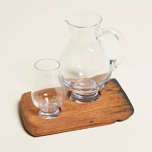 Whisky Glass & Jug Holder