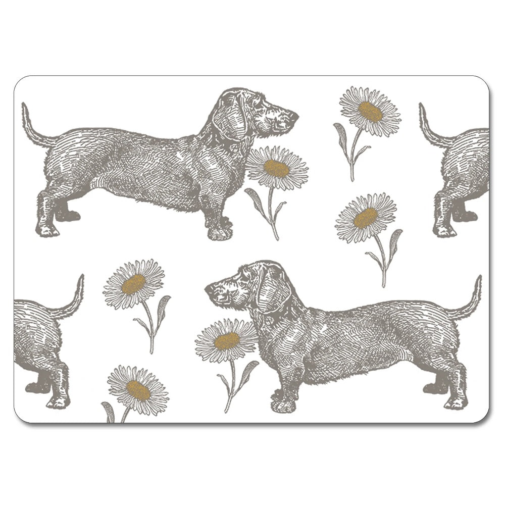 Thornback & Peel Dog and Daisy Tablemats