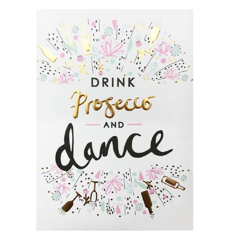 Prosecco and Dance Card
