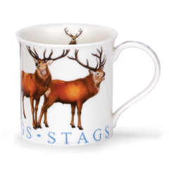Dunoon Ceramics Bute Mug - Stags
