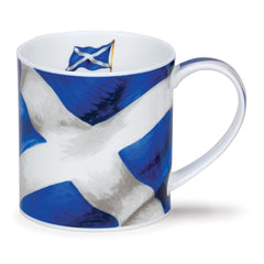 Dunoon Ceramics Orkney Mug - St Andrew's Cross