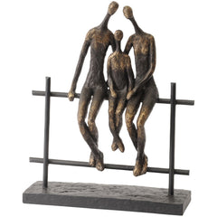 Family Of Three Sculpture